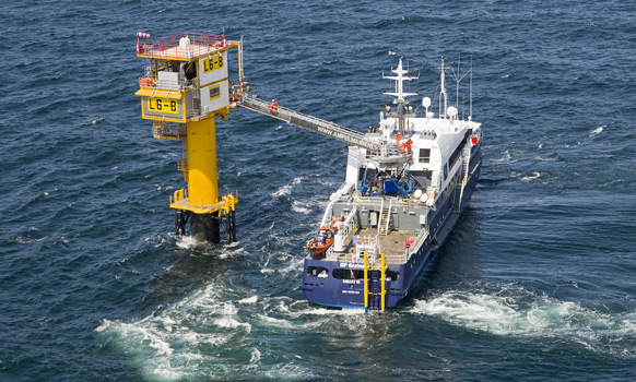 Wintershall's Unmanned North Sea Platform Produces First Gas