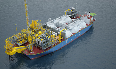 Midscale FLNG: the Twin-Hull Concept