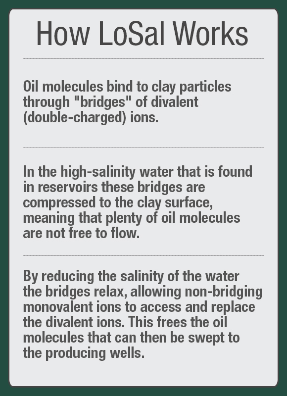 LoSal: BP's Low-Salinity Enhanced Oil Recovery Technology