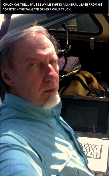 Louisiana retiree Chuck Cantrell stays busy as landman.