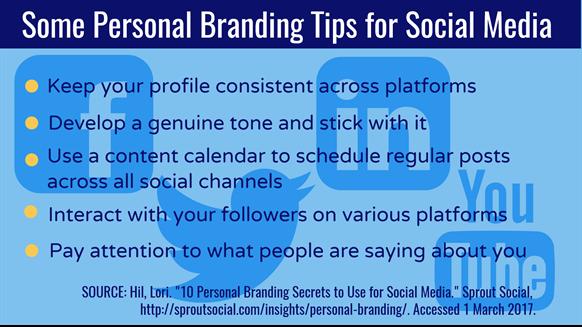Some Personal Branding Tips for Social Media