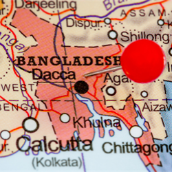 Bangladesh Petroleum Exploration and Production Co. partners Australia's Santos for its first venture into offshore oil and gas exploration in the South Asian country.