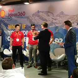 A team from the University of Illinois wins the third edition of Shell's Ideas360 student innovation competition.