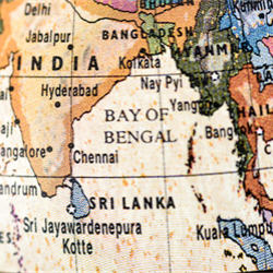 India, with support from U.S. Geological Survey and Japanese government agencies and companies, discovers large amounts of natural gas hydrate in the Bay of Bengal.