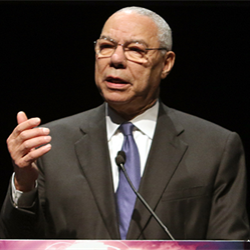 NAPE Global Business Summit in Houston exceeds expectations as former Secretary of State and retired four-star Gen. Colin Powell tells it's a fascinating time for the energy industry.