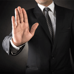 Objections won't necessarily sink your chances of getting the job.