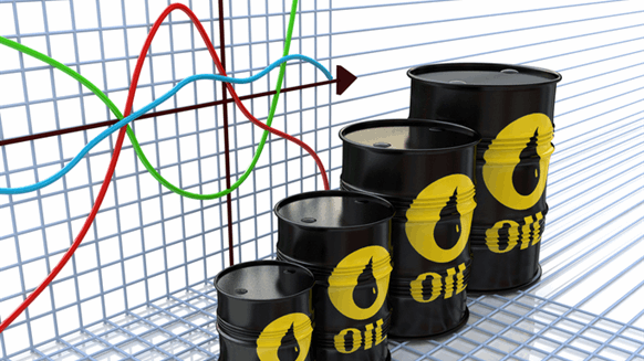 Crude oil prices fall on rising USA  crude inventories, record production
