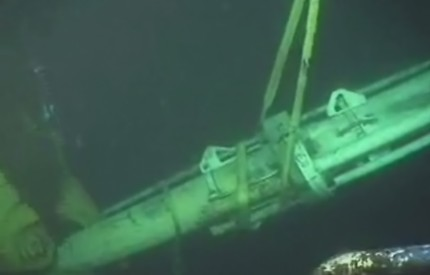 cutting Deepwater Horizon riser