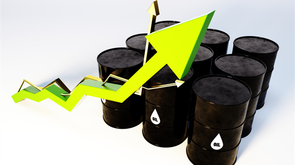 DNV GL: Oil to Hit Almost $58 Per Barrel by Year-End
