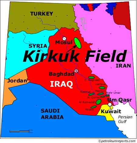 Kirkuk Field, Iraq