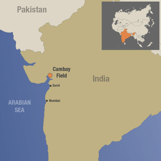 Cambay Field, India