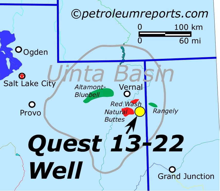 Quest Discovery, Uinta Basin