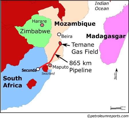 Mozambique-South Africa Pipeline