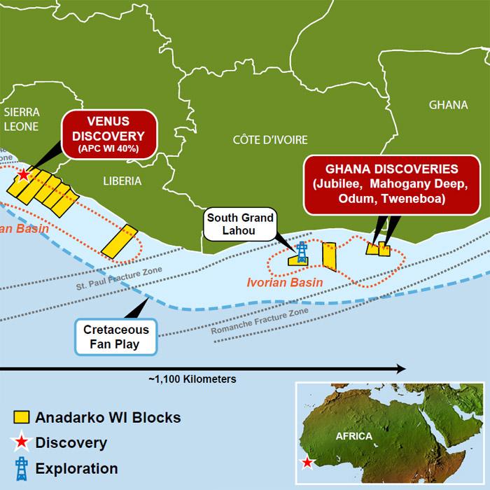Anadarko's West African Assets