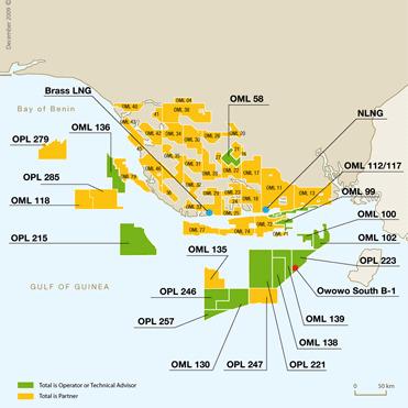 Deepwater Nigerian Licenses