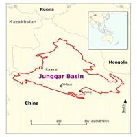Junggar Basin  ChinaJunggar Basin