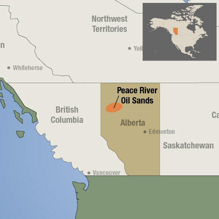 Peace River Oil Sands and Arch