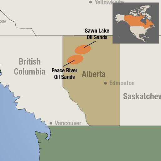 Sawn Lake Oil Sands