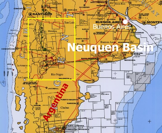 Neuquen Basin Blocks