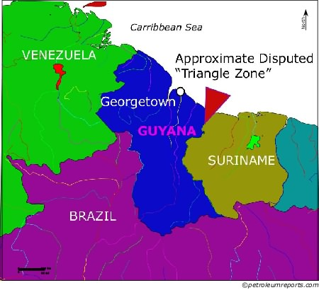 Guyana-Suriname Disputed Boundary
