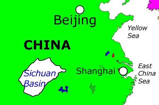 Sichuan Basin, China