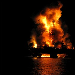 Deepwater Horizon in Flames (Apr 20)