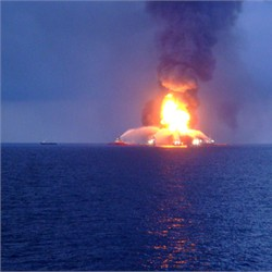 Distant View Deepwater Horizon (Apr 21)