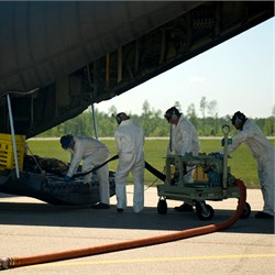 U.S. Air Force: C-130s, spill response