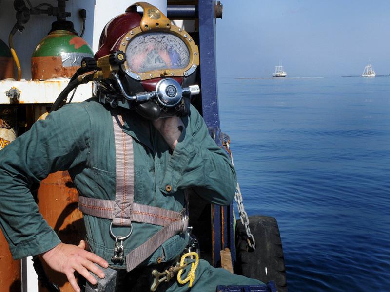 Louisiana Oilfield Diver, Bruce Padilla,