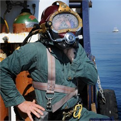 Louisiana Oilfield Diver, Bruce Padilla,