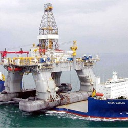 Horizon's Sister, Nautilus, Transported via Heavy Lift Vessel