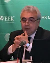 Fatih Birol, Executive Director, IEA