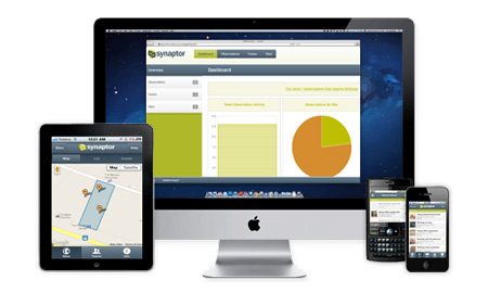 Synaptor Phone Apps, Web Tools Transform HSE Management