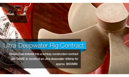 Atwood Books Ultra-Deepwater Rig