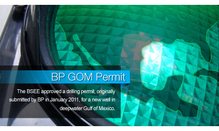 Govt Greenlights 1st BP GOM Permit after Spill