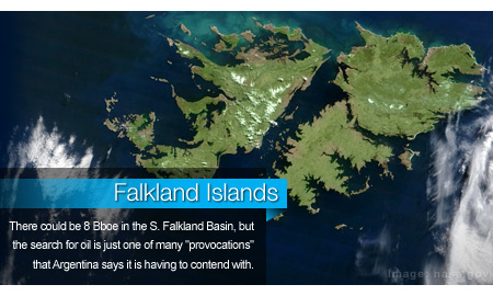 Falkland Islands Oil Opportunity Amid Rising Diplomatic Tensions