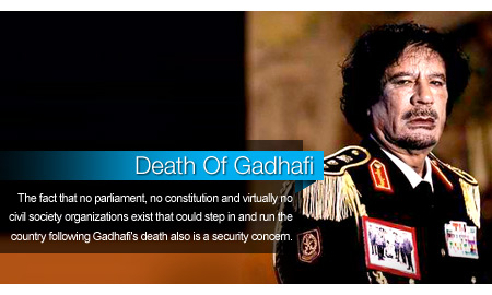 Death Of Gadhafi, Fall of Stronghold to Help Libyan Oil Recovery