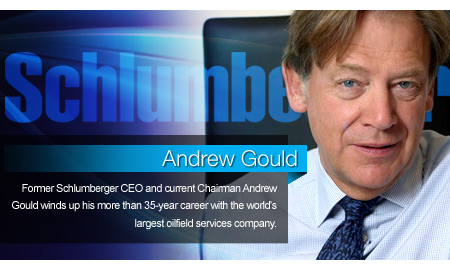 Schlumberger CEO and current Chairman Andrew Gould