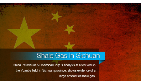 Sinopec Finds Promising Test Well for Shale Gas in Sichuan