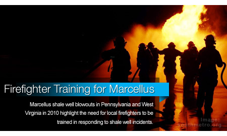 Firefighters Undergo Training for Marcellus Shale Wells