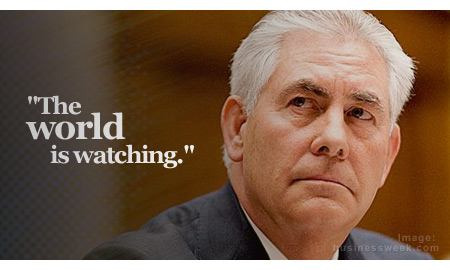 Tillerson: Sound, Thoughtful Regulations Needed to Shape US O&G Future