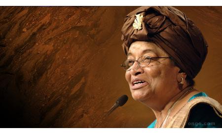 Sirleaf Seeks to Lift Liberia with Oil Resource Development