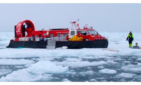 Hovercraft to Make Pioneering Expedition to North Pole