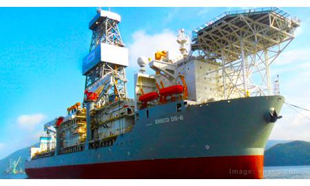 Ensco Exercises Option for Ultra-Deepwater Drillship