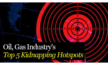 Oil, Gas Industry's Top 5 Kidnapping Hotspots