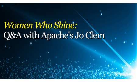 Women Who Shine: Q&A with Apache's Jo Clem