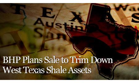 BHP Plans Sale to Trim Down West Texas Shale Assets