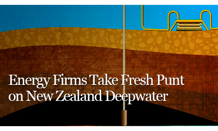Energy Firms Take Fresh Punt on New Zealand Deepwater
