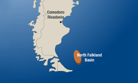 Isobel Deep Hits Oil North of the Falklands