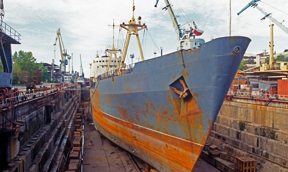 Bruised Asian Shipyards Prepares for Eventual Market Upswing